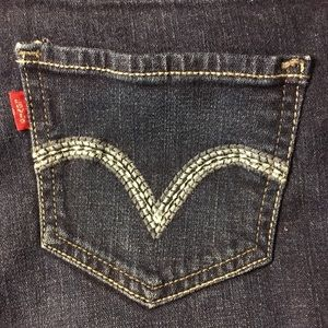Levi's Too Superlow 524 Bootcut